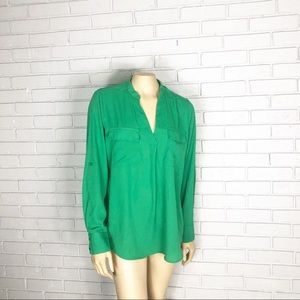 🦄A New Day Women's Green Blouse